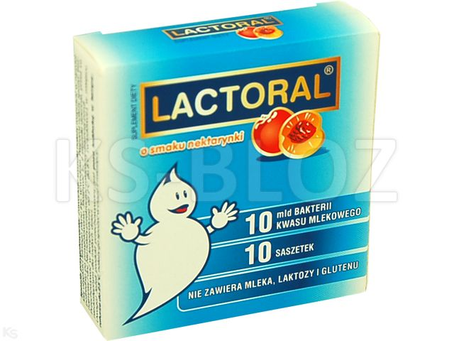 Lactoral smak nektarynki