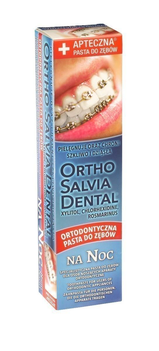 Ortho Salvia Dental Na Noc Specjalistyczna Pasta do zębów 75 ml