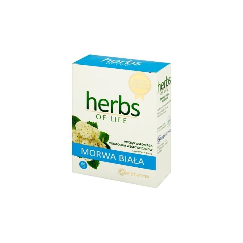 Herbs of Life Morwa Biała 60 Tabletek