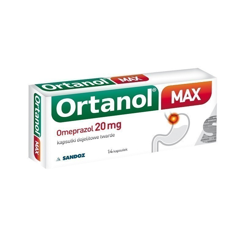 Ortanol Max 14 Kapsułek