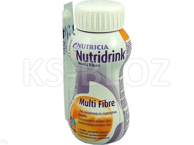 Nutridrink Multi Fibre pomarańcz.