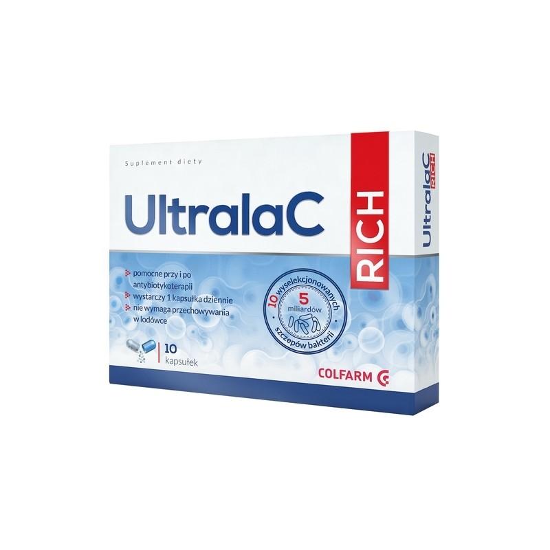 UltralaC Rich - 10 wyselekcjonowanych szczepów bakterii