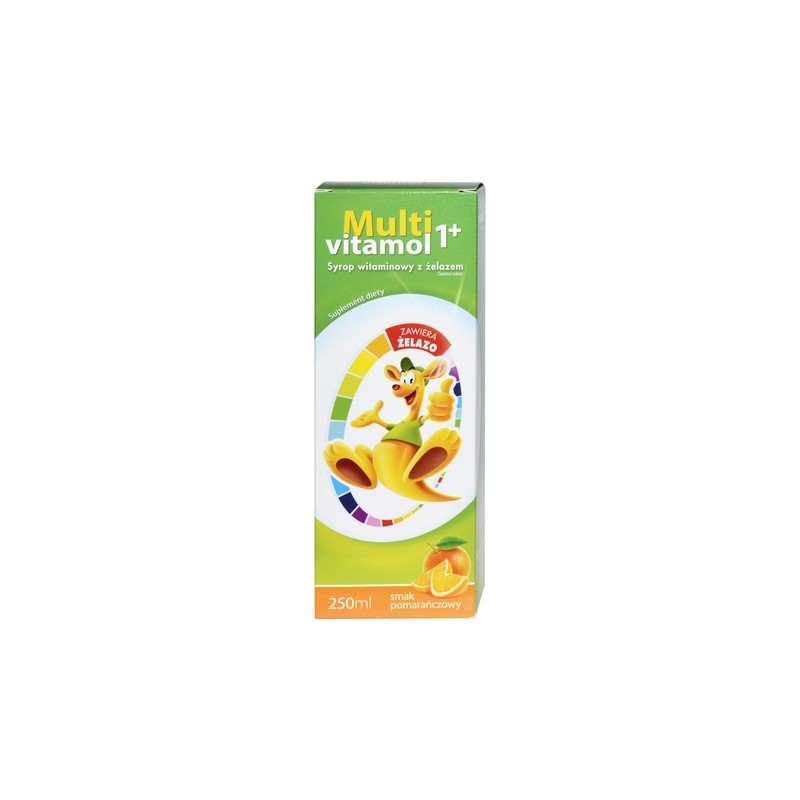 Multivitamol 1+ Syrop Witaminowy 250 ml