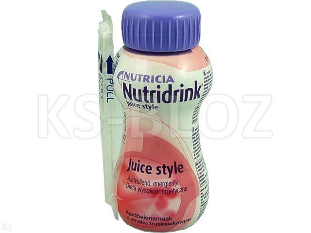 Nutridrink Juice Style sm.truskawkowy
