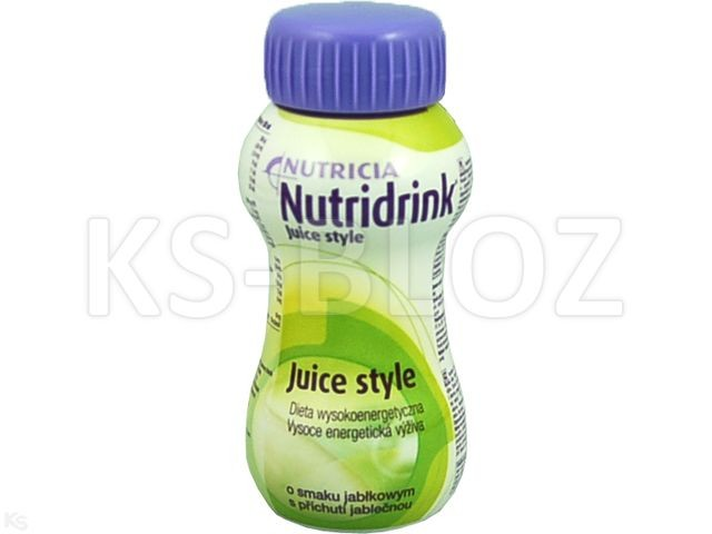 Nutridrink Juice Style sm.jabłkowy