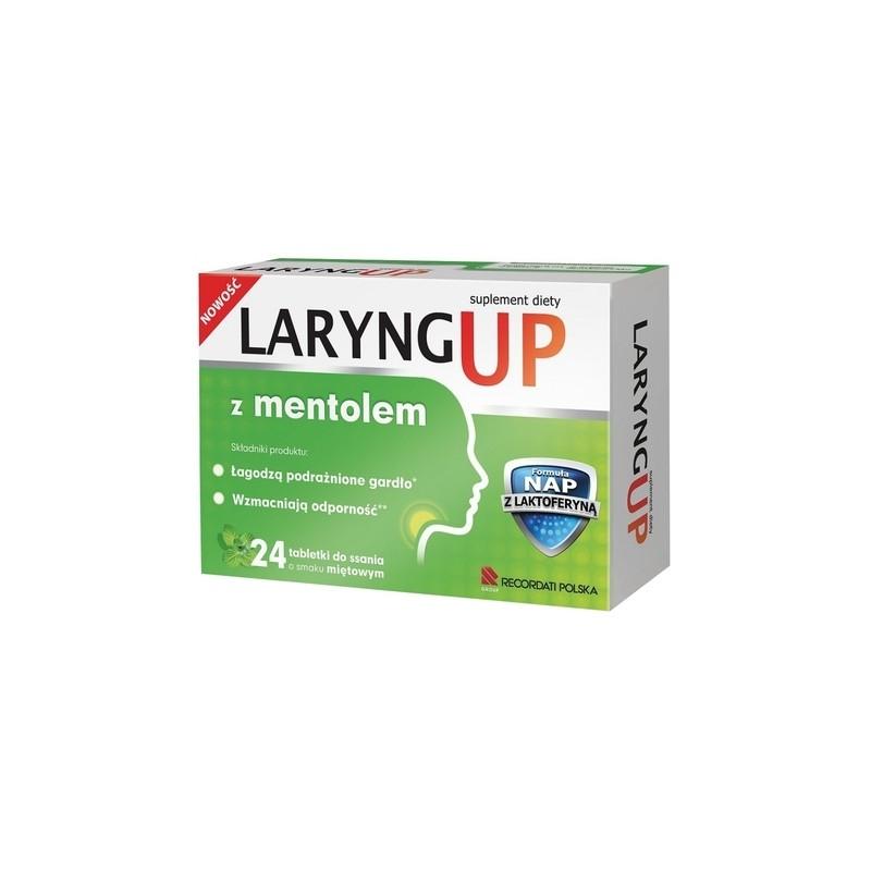 Laryng up Mentol 24 tabl.