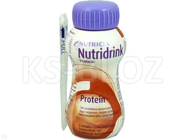 Nutridrink Protein Płyn o sm.czekoladowym