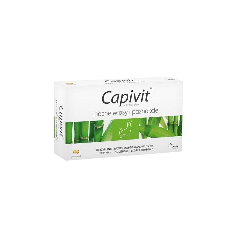 Capivit mocne włosy i paznokcie (Capivit Total Action)