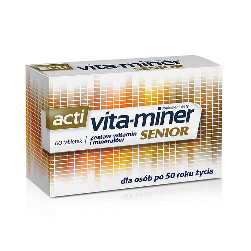 Acti Vita-Miner Senior 60 Tabletek