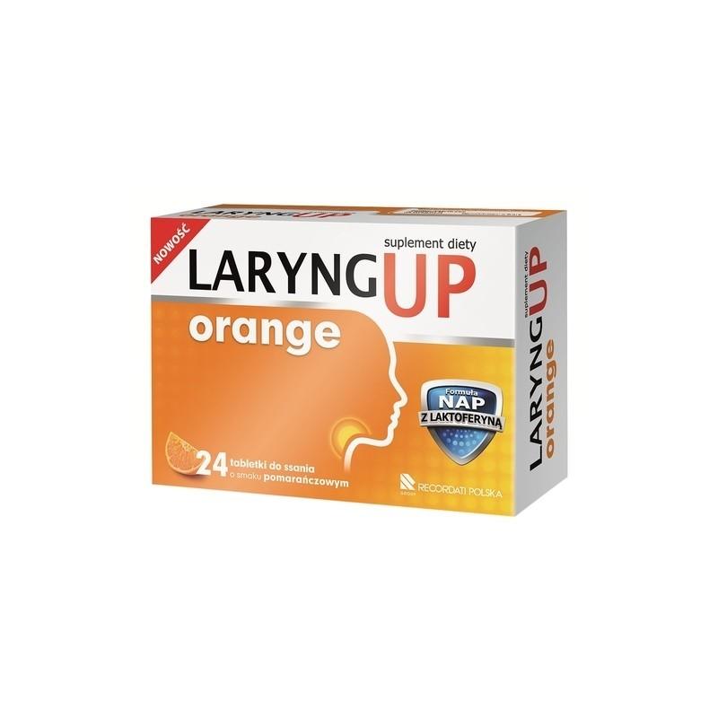 Laryng Up Orange 24 tabl.