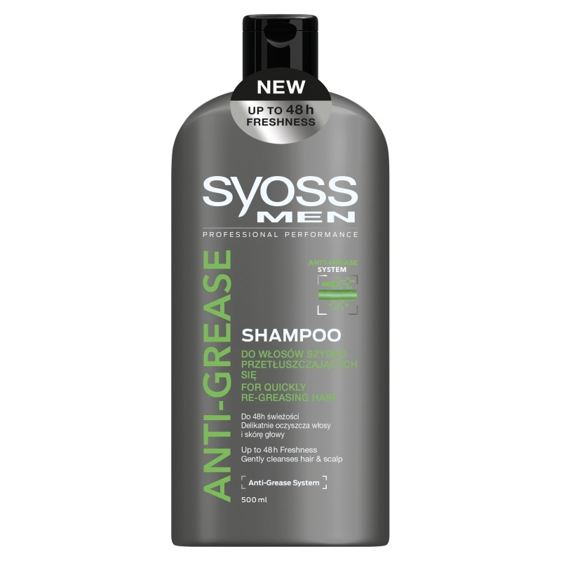 Syoss Men Anti-Grease Clean&Fresh