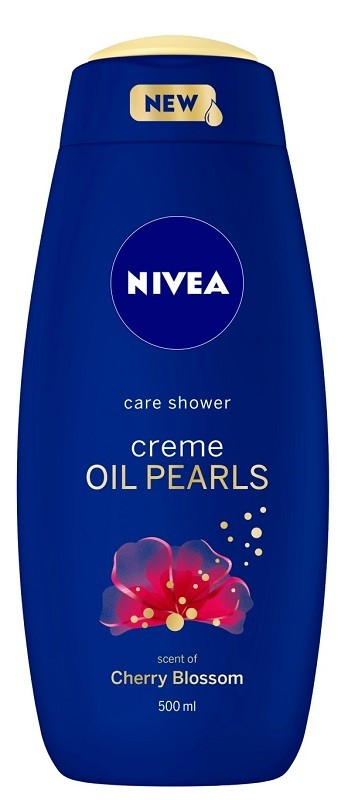 Nivea Bath Care Creme Oil Pearls Cherry Blossom