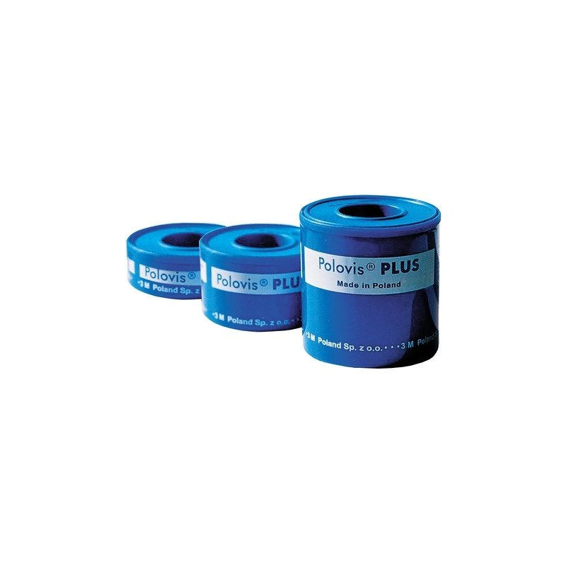 Polovis Plus Plaster Tkaninowy 5m x 50mm 1 szt.