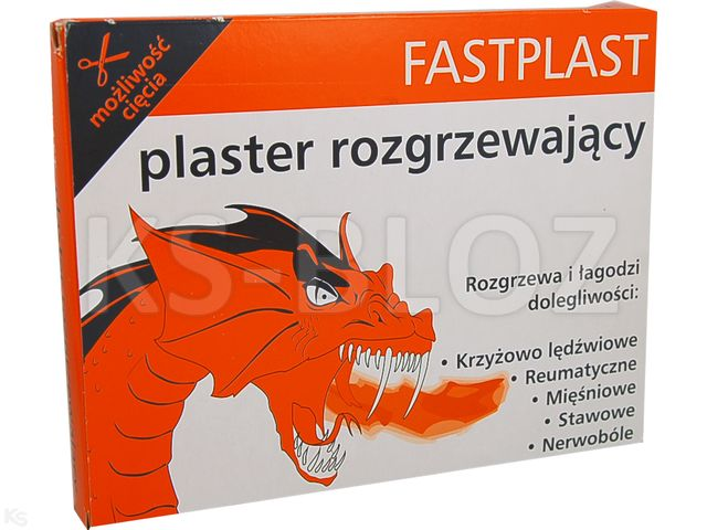 Fastplast plaster rozgrzewający 50szt.