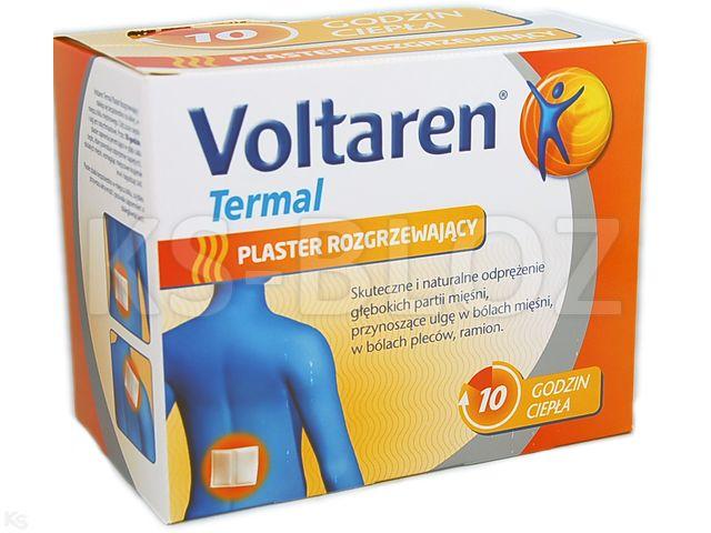 Voltaren termal plaster rozgrzewający