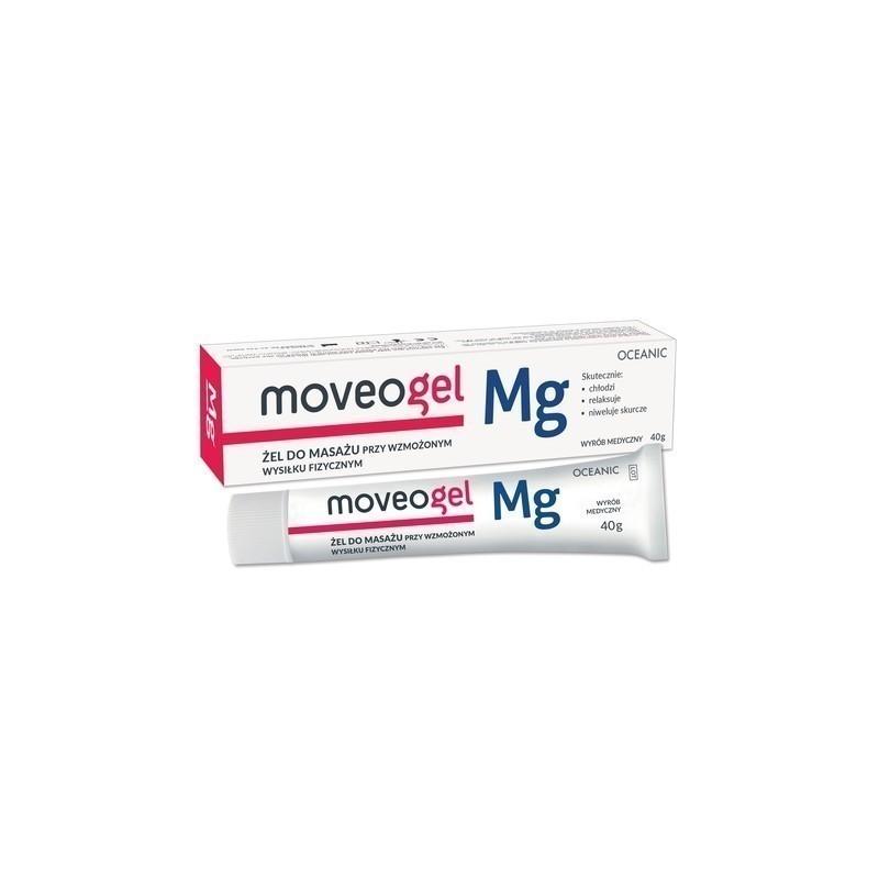 Moveogel Żel do masażu przy wzmożonym wysiłku fizycznym