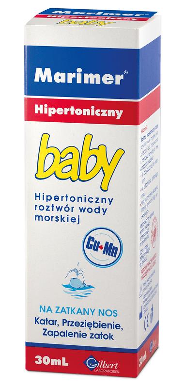 Marimer Baby Hipertoniczny Spray 30 ml