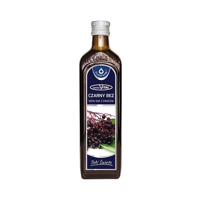 Sambuvital 100% Sok z Czarnego Bzu 490 ml