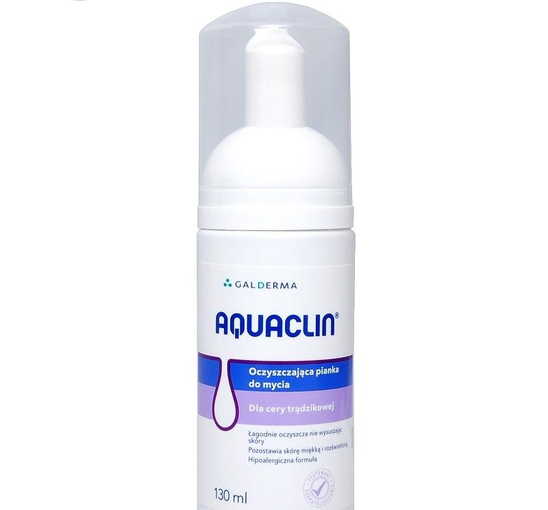 Aquaclin Oczyszczająca pianka do mycia 130 ml
