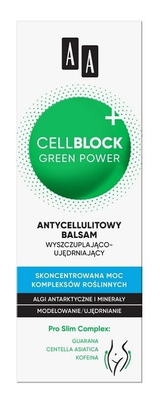 AA Cell Block Green Power
