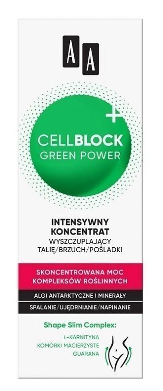 AA Cell Block Green Power