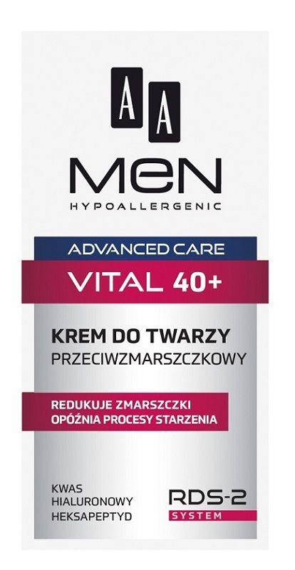 AA Men Advanced Care 40+