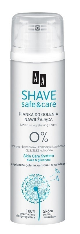 AA Shave Safe & Care