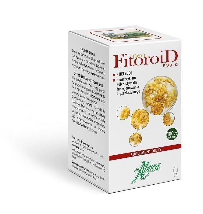 Aboca NeoFitoroid 50 Kaspułek
