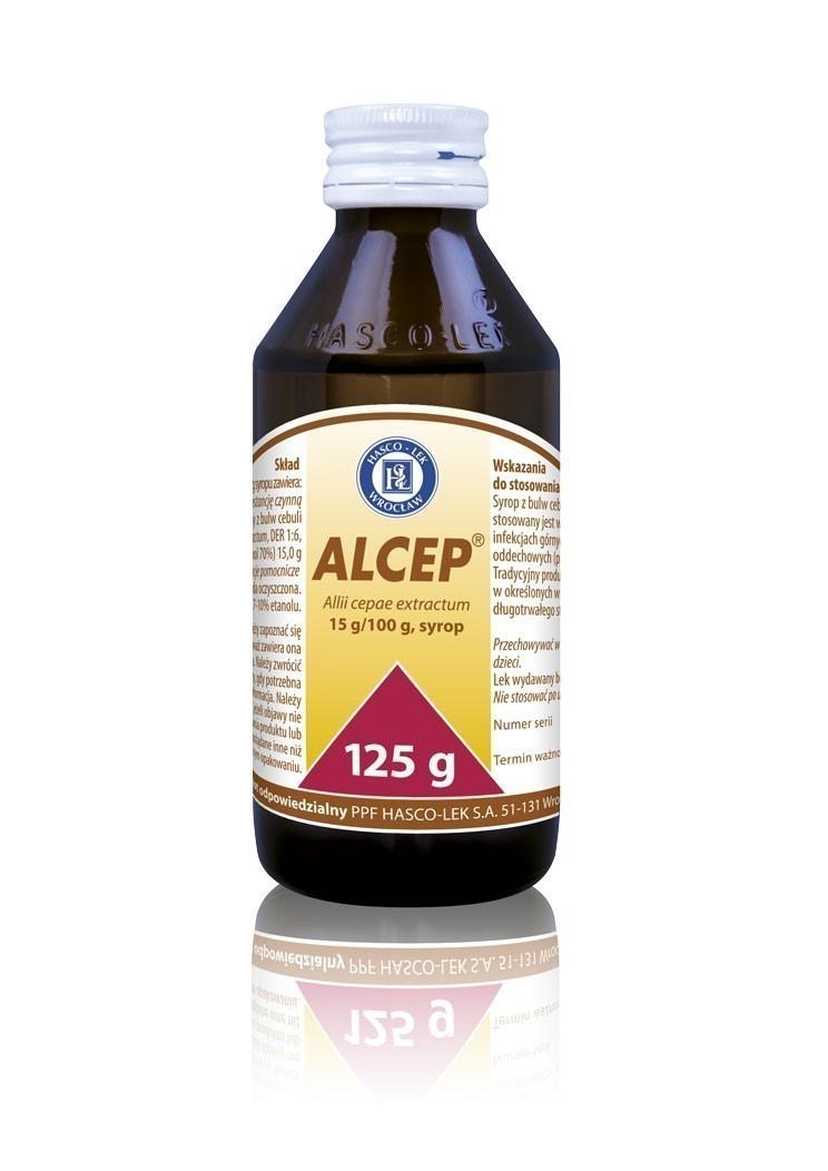Alcep - wyciąg z cebuli, syrop