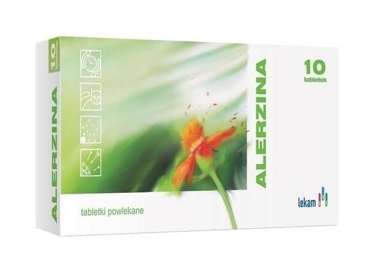 Alerzina 10 Tabletek