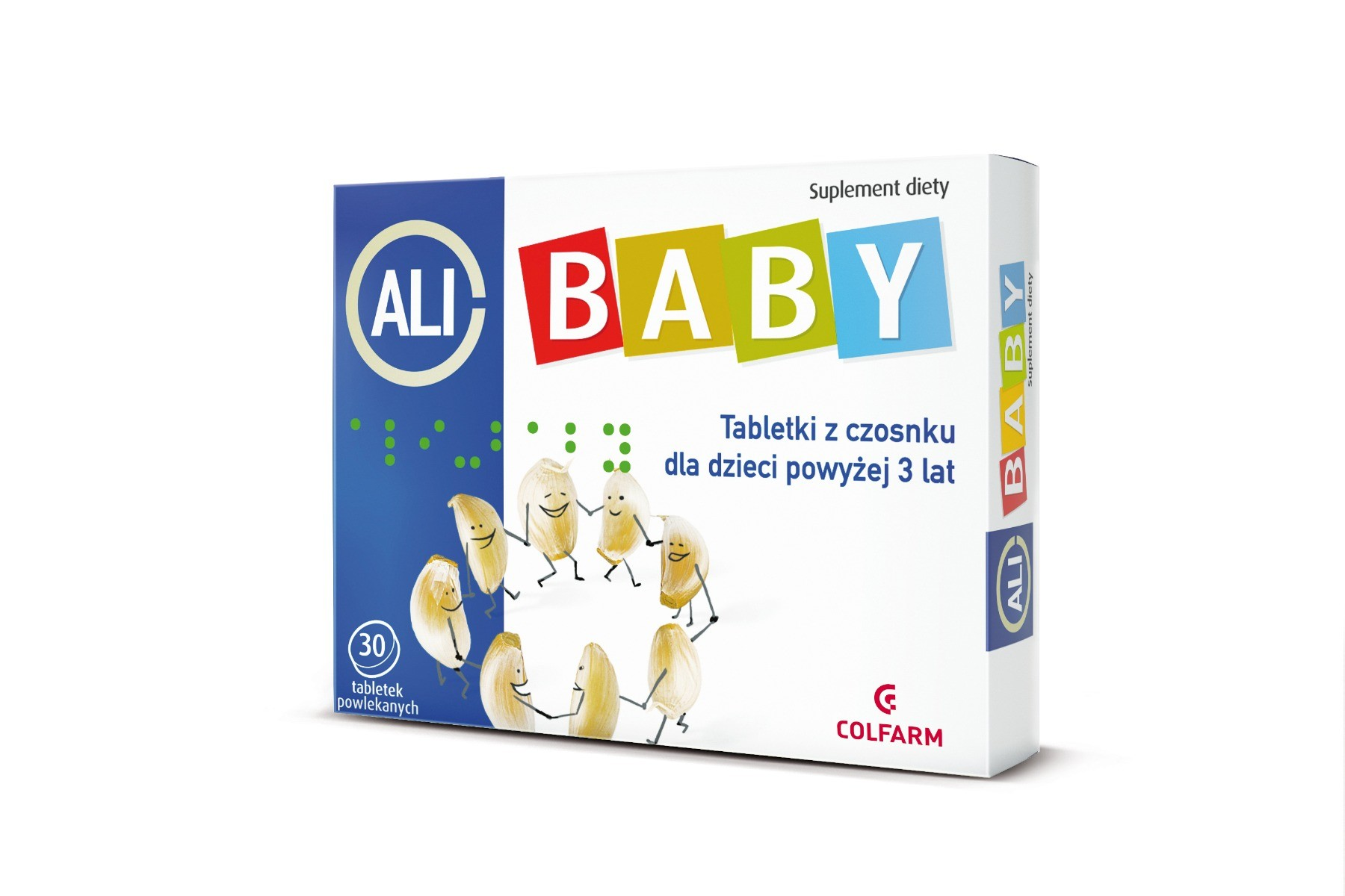 Ali-baby czosnek w tabletkach