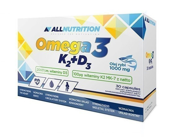 Allnutrition Omega 3 D3+K2