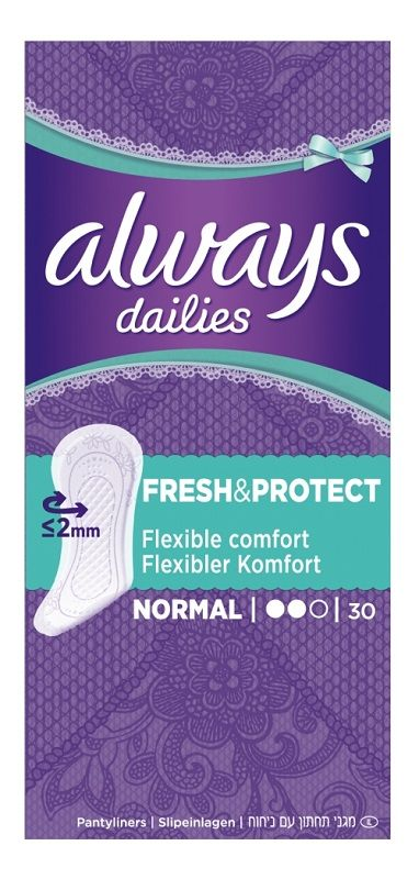 Always Dailies Fresh & Protect Normal