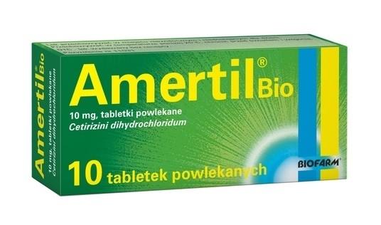 Amertil Bio 10 Tabletek