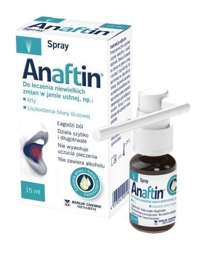 Anaftin Aerozol 15 ml