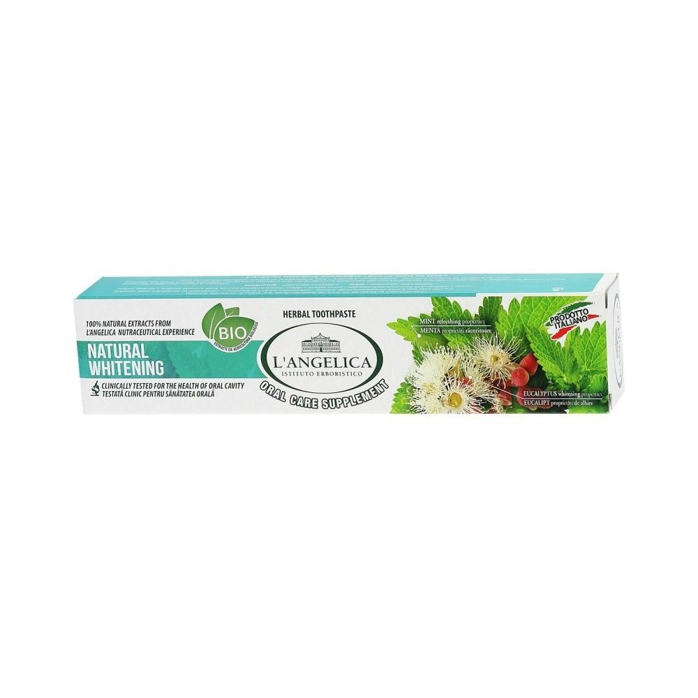 L'Angelica Naturalnie Wybielająca Pasta do zębów 75 ml