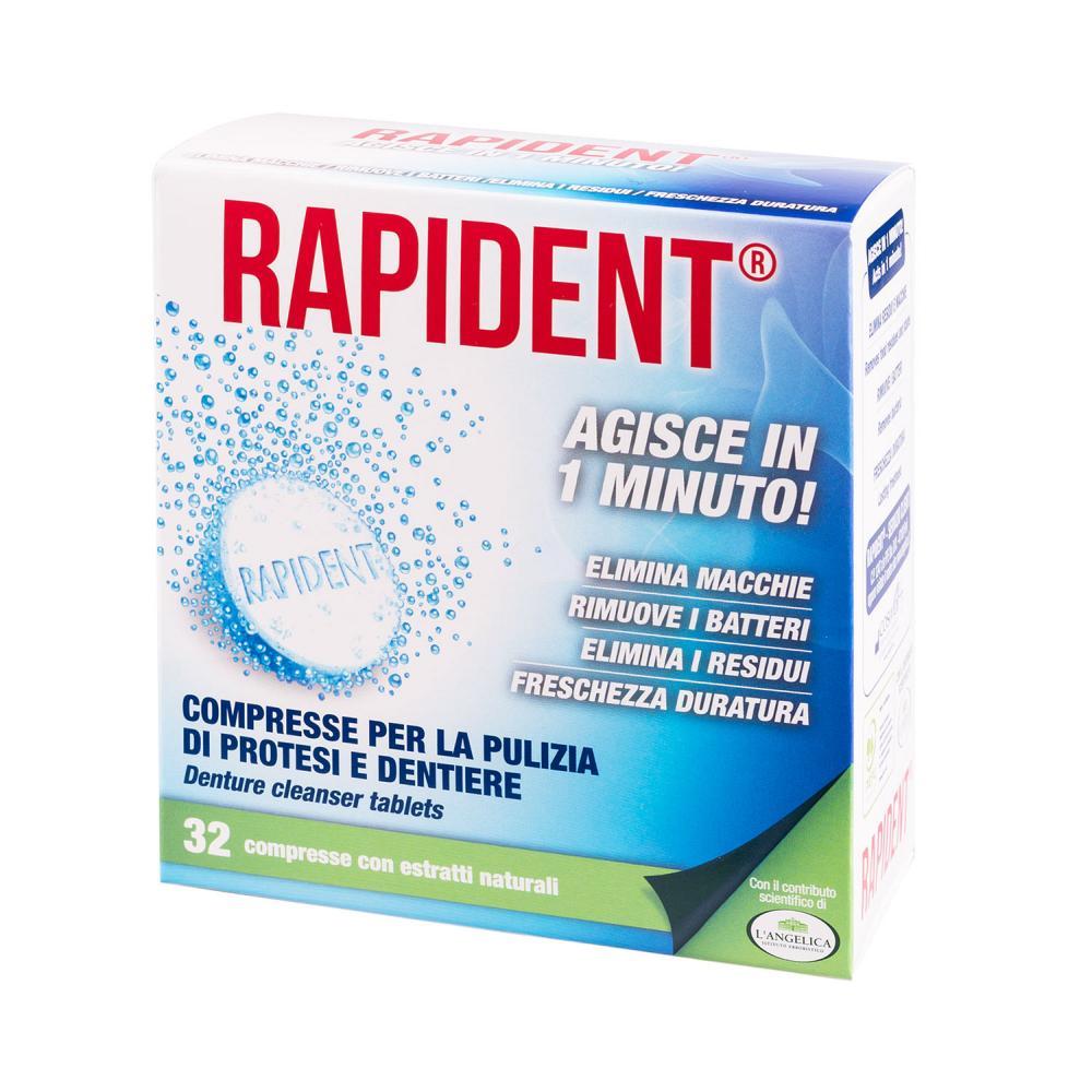 L'Angelica Rapident Tabletki do Czyszczenia Protez 32 Sztuki