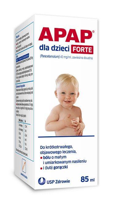 Apap Dla Dzieci Forte 85 ml