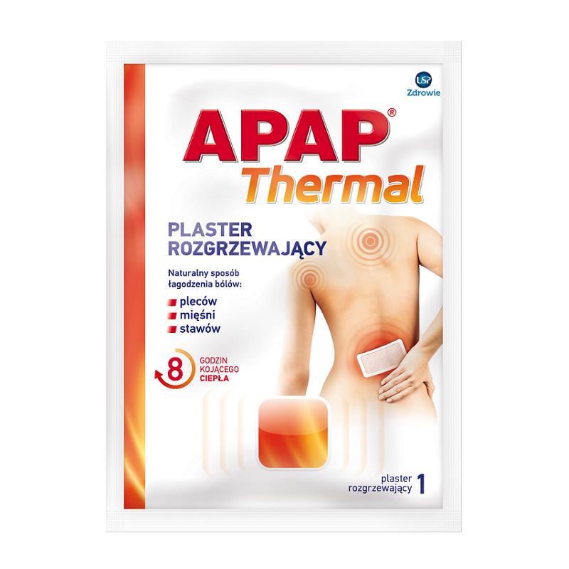 Apap Thermal Plaster Rozgrzewający 1 szt.