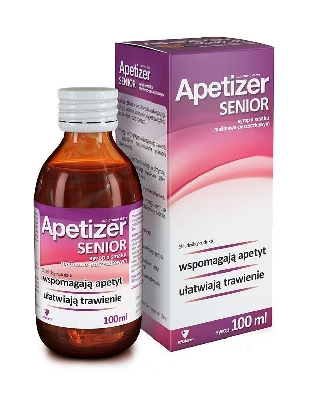 Apetizer Senior Syrop Malinowo-porzeczkowy 100 ml