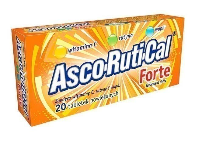 Ascorutical Forte 20 Tabletek