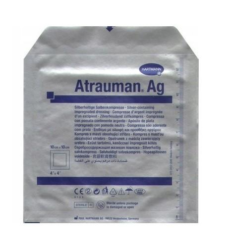 Opatr. Atrauman AG z maścią 10x10cm