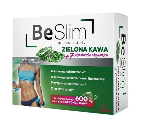 Be Slim Zielona Kawa 30 Tabletek