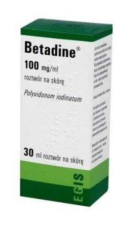 Betadine 10%  Roztwór 30 ml
