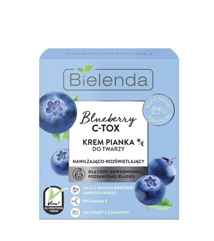 Bielenda Blueberry C-Tox Nawilżająco-Rozświetlająca