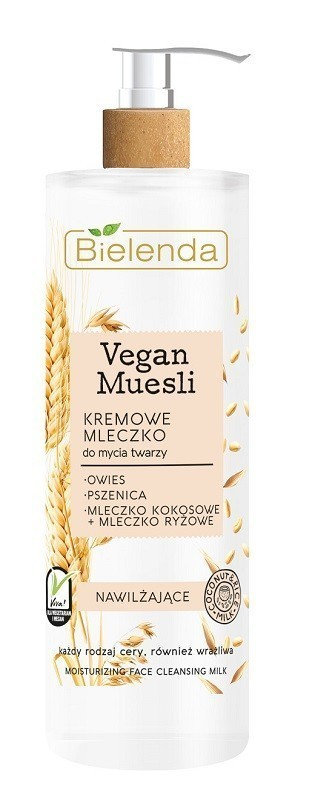Bielenda Vegan Muesli Pszenica, Owies, Mleczko Kokosowe