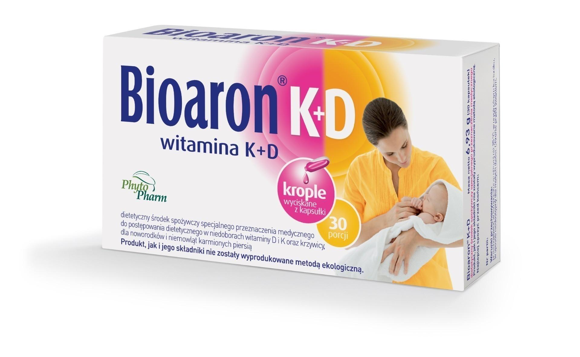 Bioaron Witamina K+D