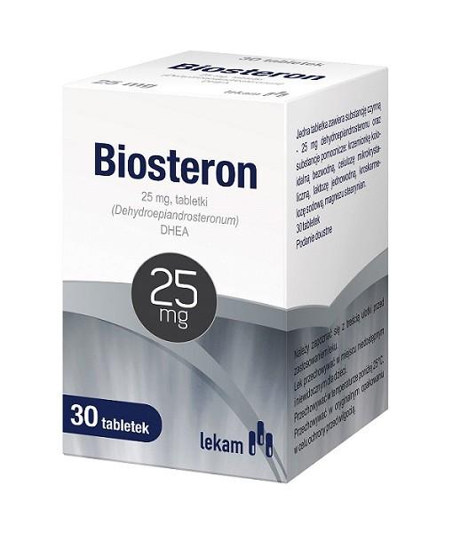 Biosteron 25 mg Tabletki