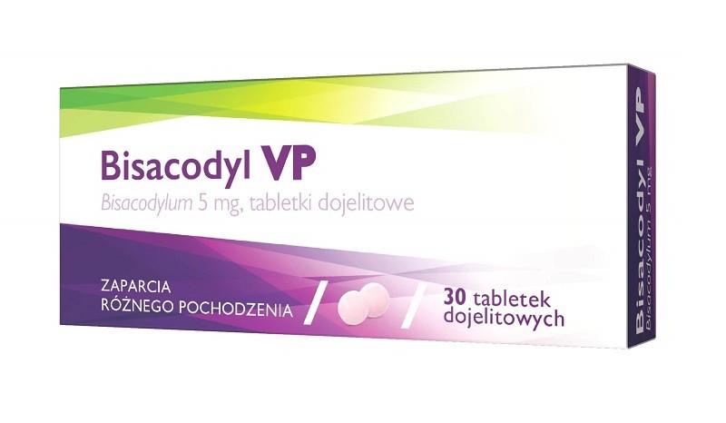 Bisacodyl VP 30 Tabletek