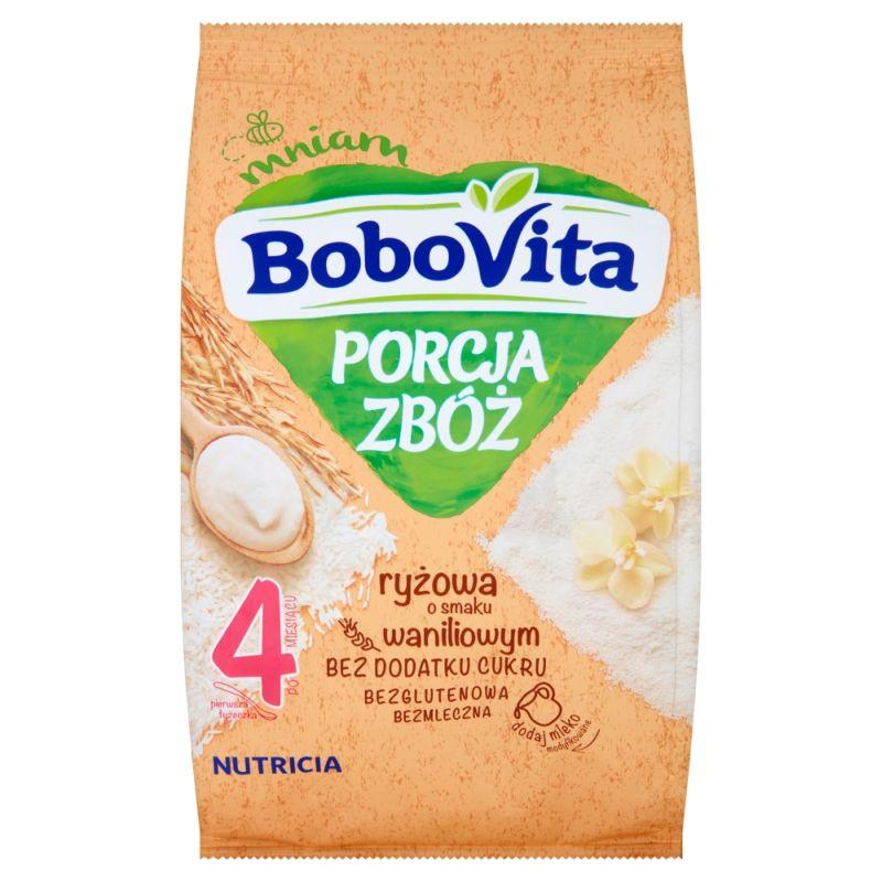 Bobovita Porcja Zbóż Ryżowa Waniliowa